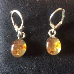 Vintage Sterling Silver 925 Earrings